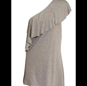 Tart One Shoulder Jersey Top
